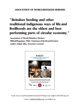 ARCTIC - Association of World Reindeer Herders
